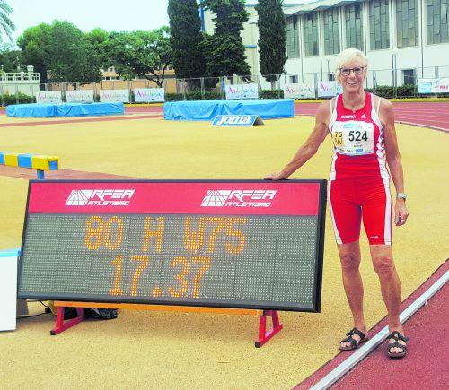 Serien-Weltrekordhalterin Marianne Maier hat im Verlauf ihrer bisherigen Karriere 54 Gold-, 31 Silber- und 20 Bronzemedaillen bei Welt- und Europameisterschaften der Masters-Leichtathleten gewonnen. VLV