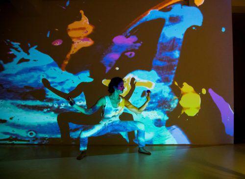 Silvia Salzmann zeigt ihr neuestes Projekt nun in Bregenz. VN/RP
