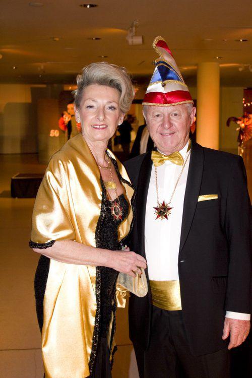 Sonja und Richard Elsler amüsierten sich.