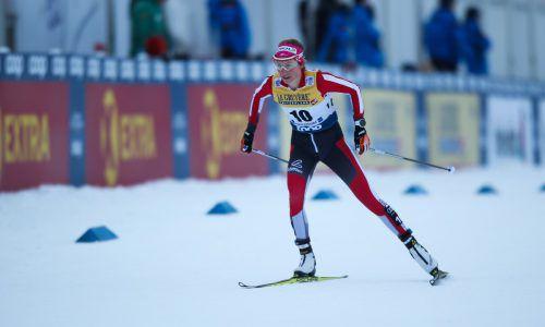 Stadlober ist nach fünf von sieben Rennen Gesamt-Neunte in der Tour de Ski.GEPa