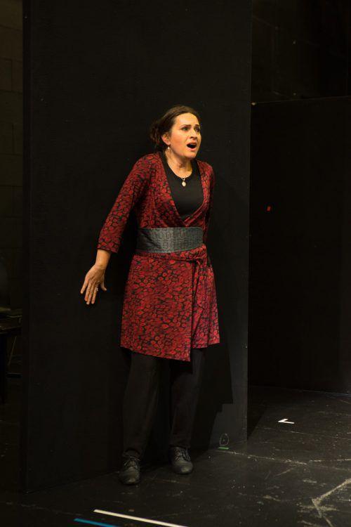 """Susanne Bernhard singt die Leonore im Bregenzer """"Fidelio"""". VN/KH"""