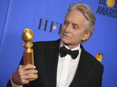 """""""The Kominsky Method"""" gewann einen Golden Globe. Zugleich wurde Douglas als bester Hauptdarsteller in einer Musical- oder Comedy-Serie ausgezeichnet. AP"""