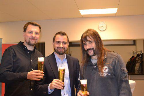 Thomas Theurer, Christian Küng, Wolfgang Sila.