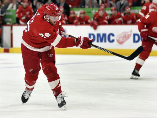 Thomas Vanek, Österreichs Eishockey-Ikone in der NHL, wird eintausend Spiele alt.ap