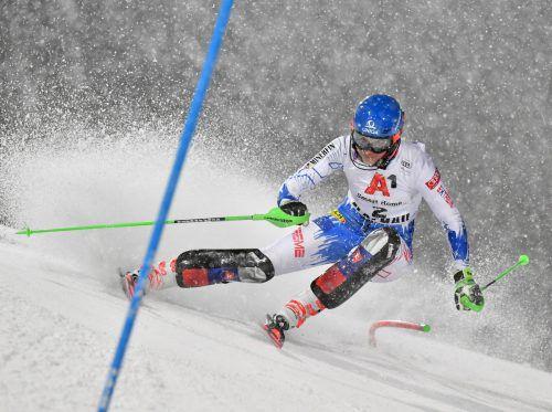 Traumlauf im zweiten Durchgang beim Nachtslalom in Flachau, Petra Vlhova konnte sich nach fünf zweiten Plätzen in dieser Saison endlich gegen Mikaela Shiffrin durchsetzen.apa