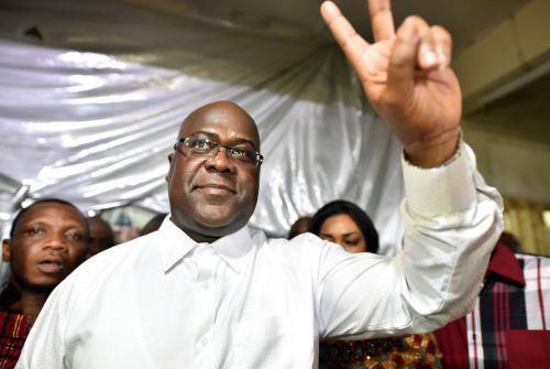 Tshisekedis Triumph wurde von schweren Vorwürfen überschattet. reuters