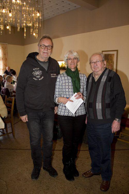 Ulrich Gabriel (l.), Birgit Rietzler und Adolf Vallaster.