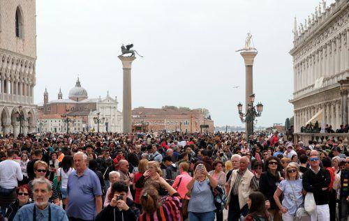 Venedig versucht seit langem, die Touristenströme in den Griff zu bekommen. Reuters