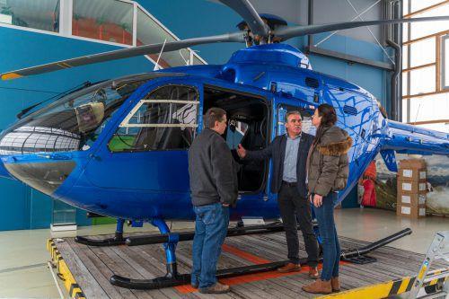 Wem dieser Helikopter gehört? Russischer Magnat trifft es wohl am besten.