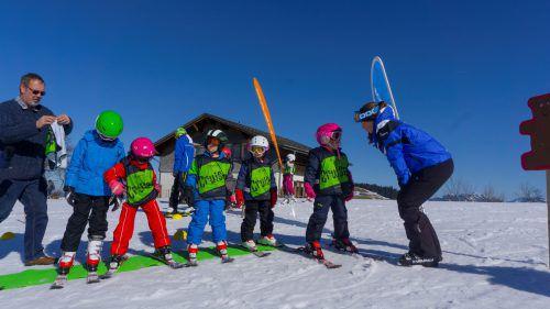 Wenn Kinder mit dem Skifahren früh anfangen, kommen sie vom österreichischen Nationalsport kaum mehr los. VN/Paulitsch