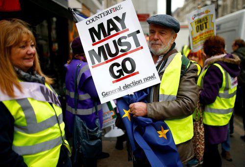 Zweieinhalb Jahre nach dem Brexit-Referendum herrscht in Großbritannien Ratlosigkeit, Verwirrung und Wut. REUTERS