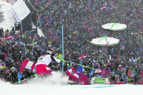 Zweiter Slalom-Klassiker innerhalb von drei Tagen für Christian Hirschbühl und Kollegen – mit Heimvorteil. Nach dem Ganslernhang wartet heute die WM-Piste in Schladming.ap