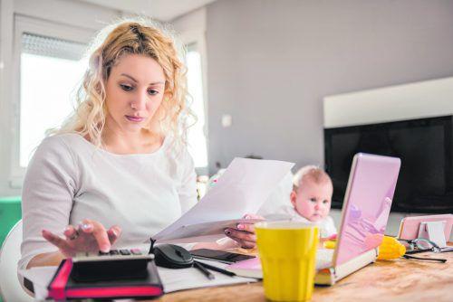 Alleinerziehende sind von hohen Wohnkosten besonders betroffen.foto: Shutterstock