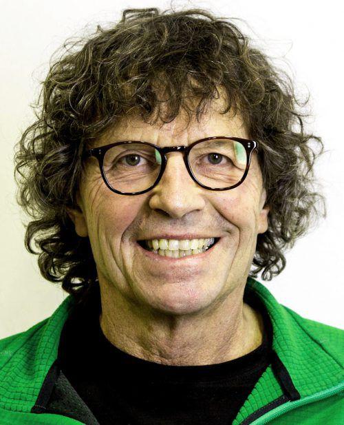 Alpinist Theo Fritsche veranstaltet den Abend.