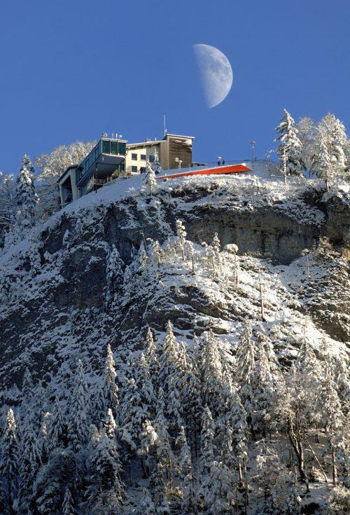 Am Karren auf 976 Metern Seehöhe erfolgen Umbaumaßnahmen zur weiteren Verbesserung der Infrastruktur. VN/Stiplovsek