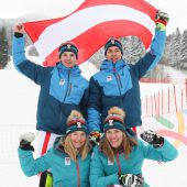 Die Vorarlberger lassen Medaillen schneien