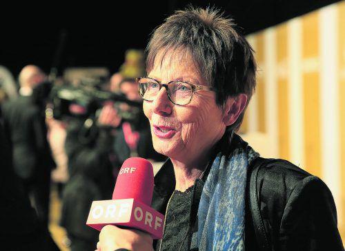 Annemarie Moser-Pröll liegt mit Alice Schwarzer im Clinch.gepa