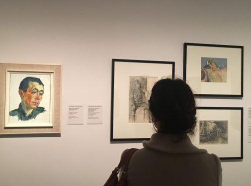 Ausstellung mit kritisch kommentierten Arbeiten der aus Lustenau stammenden Malerin Stephanie Hollenstein 2019 im Wiener Belvedere. VN/cd