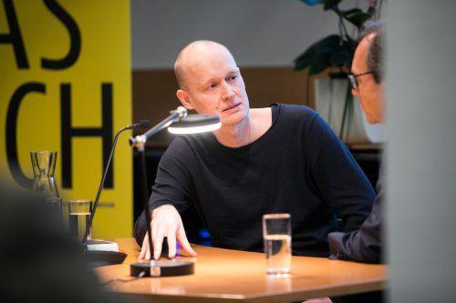 """Geiger veröffentlichte 2018 seinen Roman """"Unter der Drachenwand"""". VN/sams"""