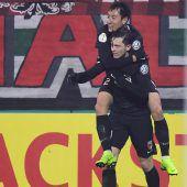 Gregoritsch schoss Augsburgins Cup-Viertelfinale