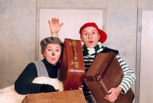 Bei Mäuschen Lizzy und Victorius wird es nie langweilig. walter menzlaw/die stromer