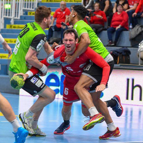 Kapitän Dominik Schmid und Co. entschieden alle bisherigen fünf Spiele gegen West Wien für sich.GEPA