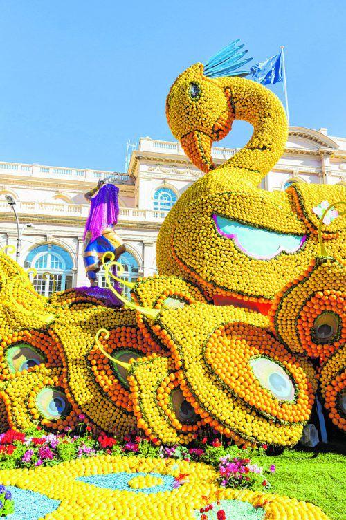 Beim Zitronenfest verwandelt sich die ganze Stadt in ein Meer aus Orangen und Zitronen. Shutterstock (5)