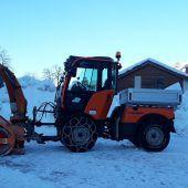 Neues für den Winterdienst
