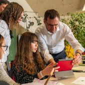 Im digitalen Klassenzimmer daheim