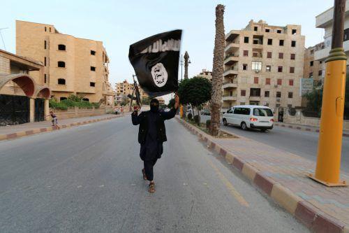 Bilder, wie dieses aus dem Jahr 2014 aus Al-Rakka in Syrien gehören mittlerweile der Vergangenheit an. Der IS steht vor einer militärischen Niederlage. REUTERS