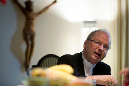 Bischof Benno Elbs fühlt tief mit den Hinterbliebenen des Opfers.