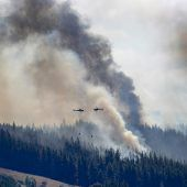 Kampf gegen Waldbrand