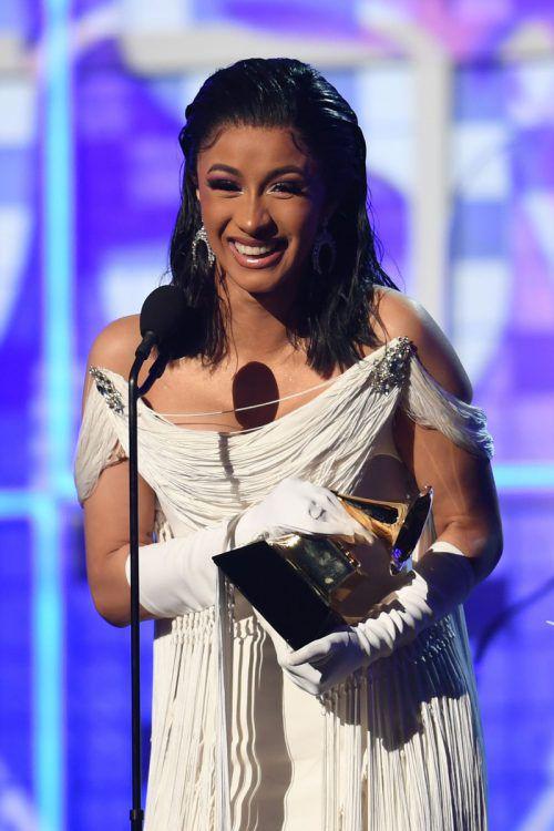 Cardi B gewinnt den Grammy für das beste Rap-Album. AFP