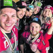 Hirschbühl fährt Slalom,ein Dankeschön ans Team