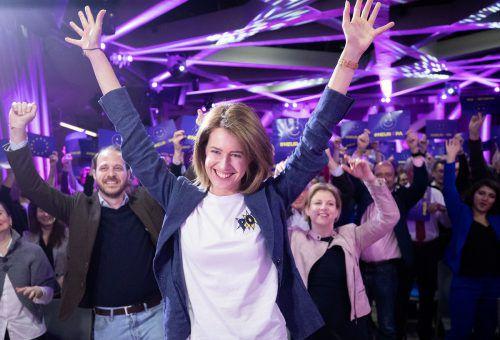 Claudia Gamon ist Neos-Spitzenkandidatin bei der EU-Wahl. Sie willmindestens das bestehende Mandat verteidigen.APA