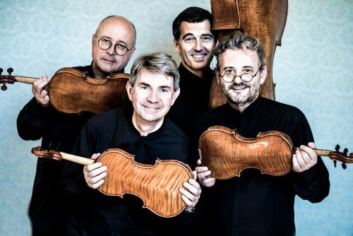 Das Artis Quartett gastiert morgen in der Remise Bludenz. Artis Quartett