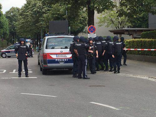 Das Familiendrama im Juni 2018 im Bregenzer Vorkloster hatte einen Großeinsatz der Sicherheitskräfte zur Folge.vol.at/Pletsch