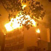 17 Menschen sterben bei Hotelbrand in Neu-Delhi
