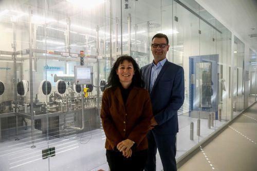 Das Geschäftsführer-Team Margit Klotz und Reinhold Elsässer. VN/Paulitsch