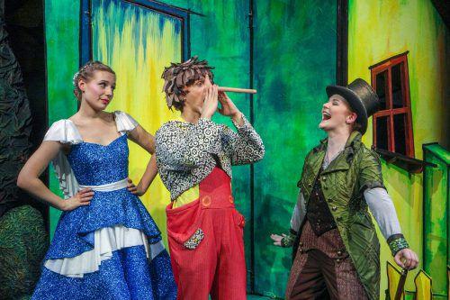 Das Theater Liberi inszeniert die Geschichte von Carlo Collodi als modernes Musical für die ganze Familie.                              Theater Liberi/Klaus Lefebvre
