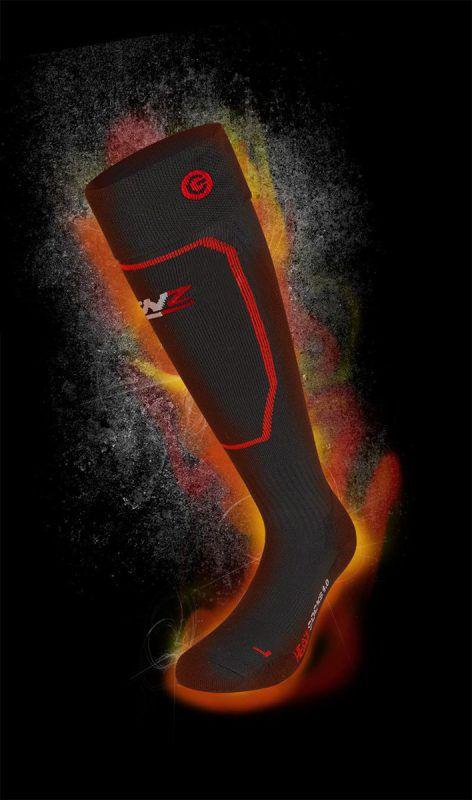 Das Unternehmen Lenz hat sich mit heizbaren Socken etabliert.Fa