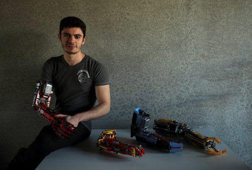 David Aguilar hat präsentiert sein neuestes Modell. Reuters