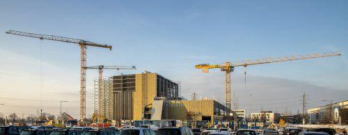 Der Erweiterungsbau liegt bezüglich Kosten und Fertigstellungstermin im Plan. Haberkorn
