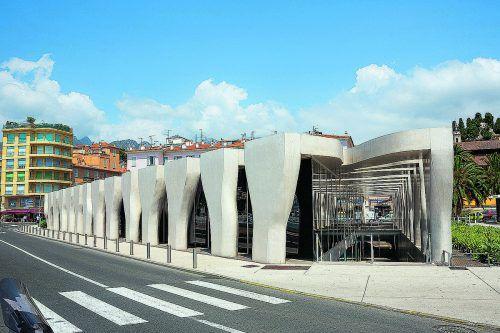 Der französische Architekt Rudy Ricciotti entwarf das außergewöhnliche Museum.