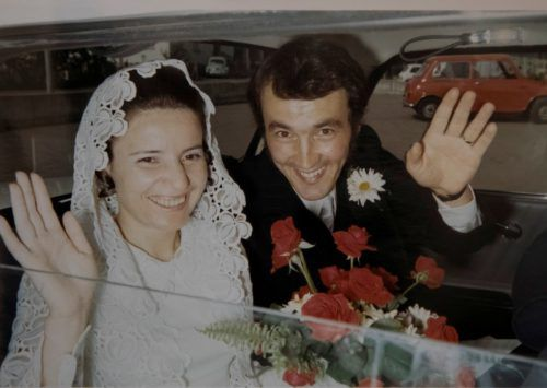 Der glücklichste Tag: Am 24. Jänner 1969 feierte das Paar Hochzeit.
