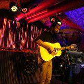 US-Musiker Tre Burt bespielte das Buntergrund