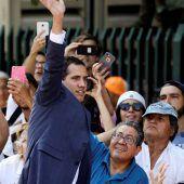 Rückhalt für Guaidó wächst