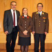 Wehr Thal hat Vorarlbergs erste Feuerwehrchefin