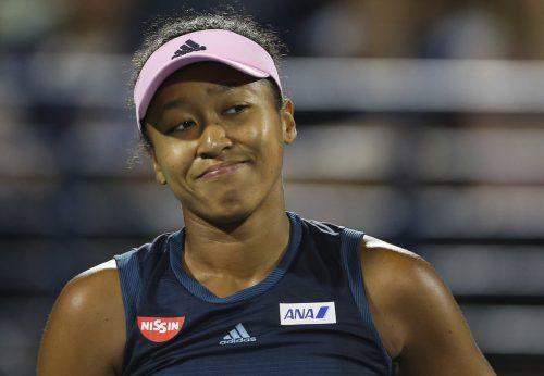 Die 21-jährige Osaka ist bei Grand-Slam-Turnieren seit 14 Partien ungeschlagen. AP