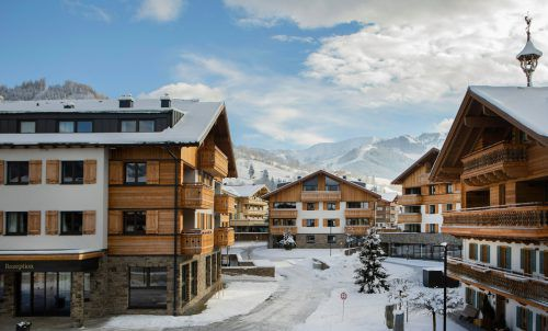 Die AlpinLodges Maria Alm sind bereits das vierte Projekt dieser Art, das Jäger Bau verwirklichte. Fa
